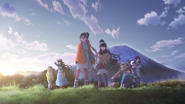 TVアニメ「ゆるキャン△」シリーズビジュアル