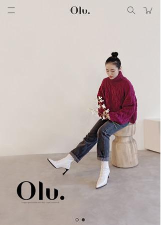 『Olu.』サイトイメージ