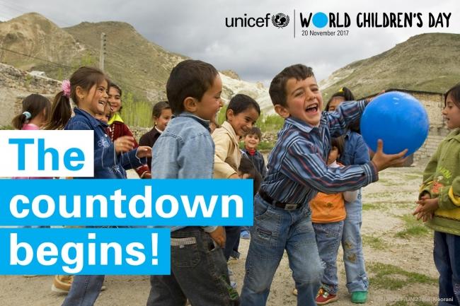 もうすぐ「世界子どもの日」。  (C) UNICEF_UN0140760_