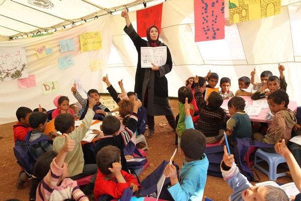 chechen refugee camps and education The creation of schools is one of the leading ways to produce hope and stability  in refugee camps many would love to go to school because, currently they have .