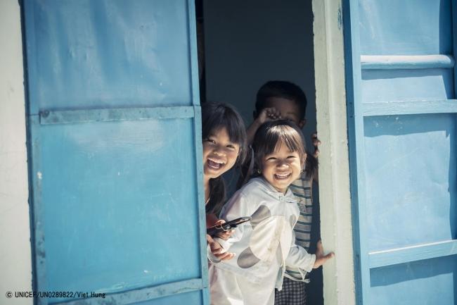 ベトナムの子どもたち。(2018年1月撮影) (C) UNICEF_UN0289822_Viet Hung