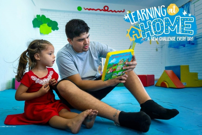 デジタルチャンネルを通じた地域のアウトリーチキャンペーン#LearningAtHome(#家で学ぼう)© UNICEF_UN0312271_Sokol