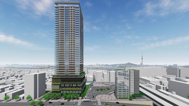 「新小岩駅南口地区第一種市街地再開発事業」都市計画決定のお知らせ