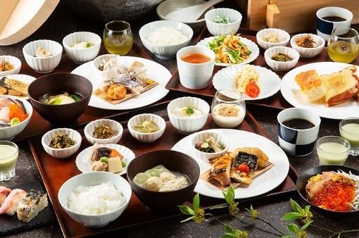 三井ガーデンホテル福岡中洲 「小野の離れ 博多本店」 朝食