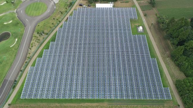 自社所有のソーラーシェアリング設備