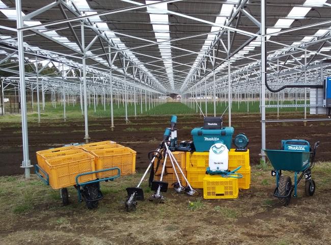 電動農機具