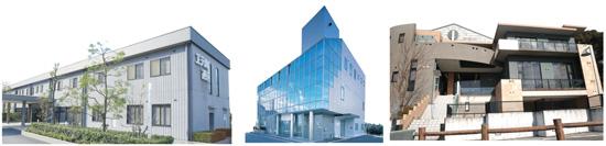 【左】エテルノ西宮 【中央】エテルノ仁川 【右】エテルノ池田