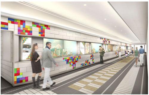 阪急三番街 北館1階 レゴ(R)ブロック作品を展示する「HANKYU BRICK MUSEUM」 のイメージ