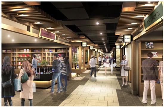 阪急三番街 南館1階 「うめ茶小路」のイメージ