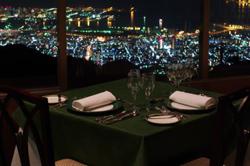 六甲山ホテル「レトワール」からの夜景