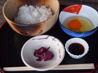 加古川産オクノのたまごを使用した   たまごかけごはん イメージ