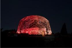伏見雅之 『六甲山光のアート「Lightscape in Rokko」― 秋バージョン「秋は夕暮れ」―』2017年