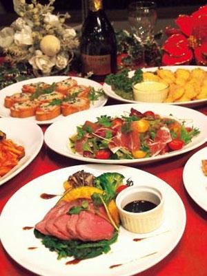 クリスマスディナー イメージ