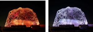 【左】(3)秋バージョン 「秋は夕暮れ」【右】(4)冬バージョン 「冬はつとめて」
