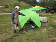 キャンプ入門 開催時の様子