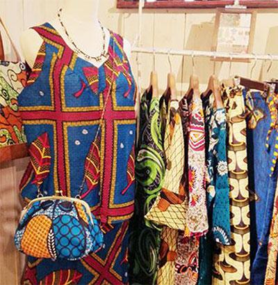 アフリカンファッションアイテム ※イメージ