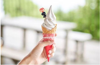 丹波黒豆ソフトクリーム
