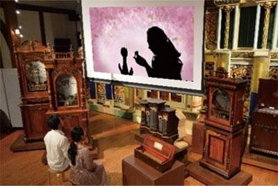 特別展「影絵とオルゴールが紡ぐアンデルセンの物語」上演イメージ