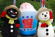 「真夏の雪まつり」 開催時の様子