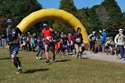 六甲山ロゲイニング 開催時の様子