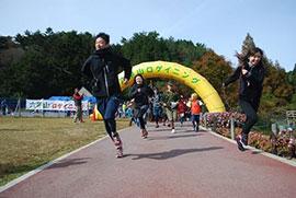 六甲山ロゲイニング開催時の様子