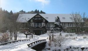 六甲オルゴールミュージアム外観(降雪時)