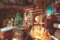 クリスマスのコンサート展示室(イメージ)