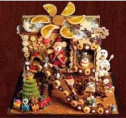 第57回 クリスマスケーキコンテスト「ヘクセンハウス部門」入賞作品