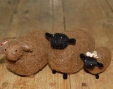羊毛クラフト体験(イメージ)