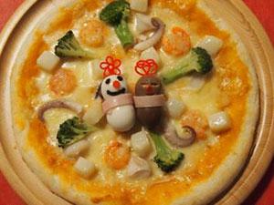 スノイル・ワルイル シーフードピザ