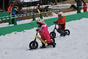 スノーストライダー体験会 開催時の様子
