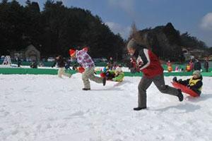雪上運動会 開催時の様子