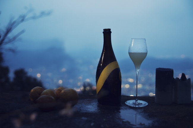 「MIAKDO LEMON Sparkling」Alcohol5%/750ml Designed by NOSIGNER