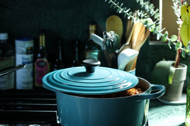 冷凍のまま揚げるだけ、 家庭で簡単にごちそう。