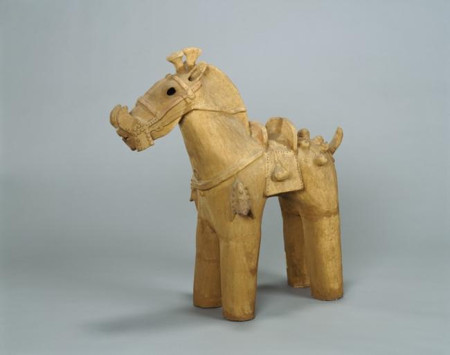 埴輪馬 伝茨城県真鍋古墳群出土 古墳時代・6世紀 九州国立博物館