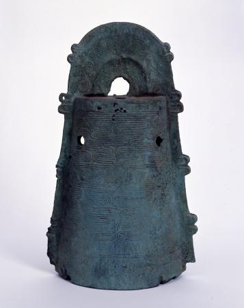 流水文銅鐸 伝奈良県 弥生中期 個人蔵