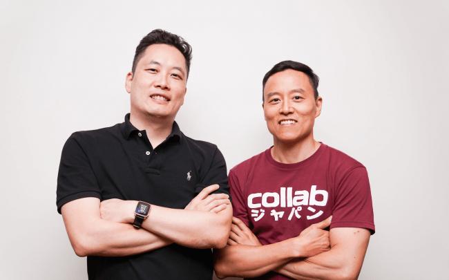 (左)ユージン・チョイ 代表取締役CEO (右)アレン・リー 代表取締役COO
