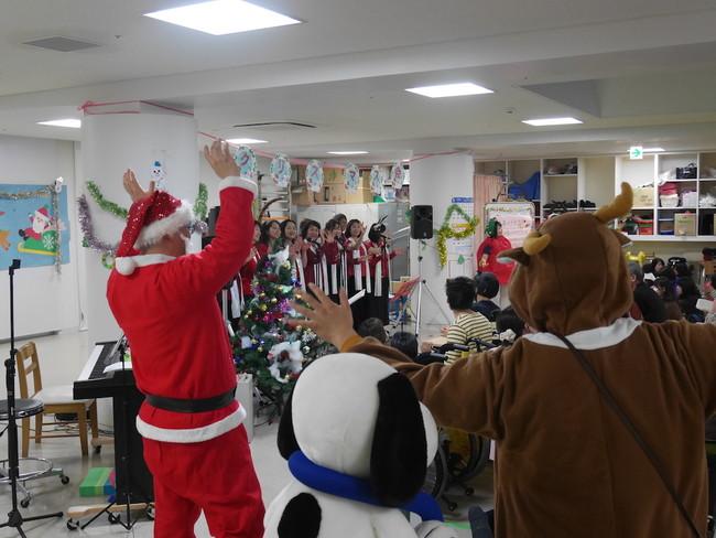 昨年のリハビリテーション科のクリスマス会の様子