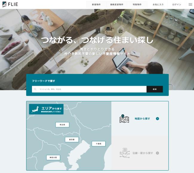 サイト トップ画面