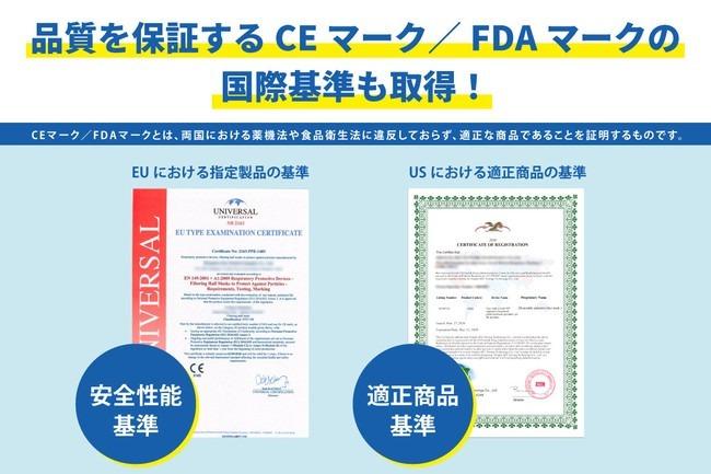 | CEマーク・FDAマーク