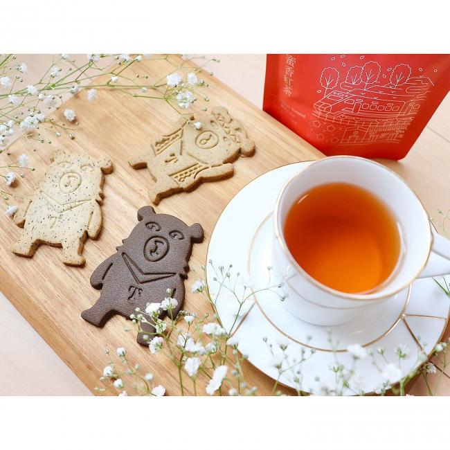 ≪郭元益≫オーベアクッキー(2箱)と日月潭紅茶のお得セット
