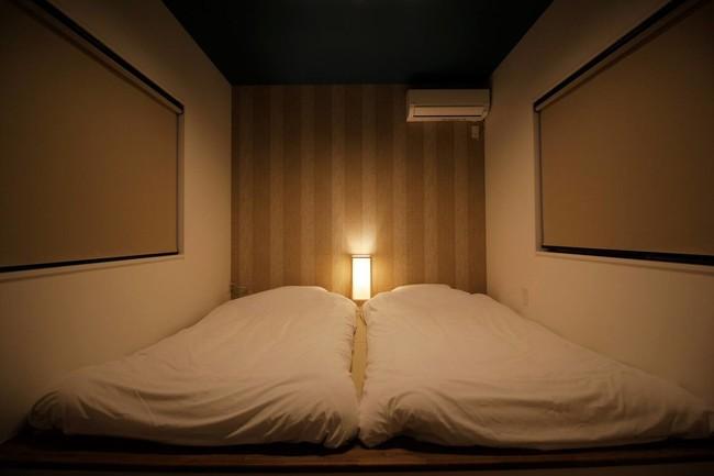 写真:古都泊 南後背(寝室)