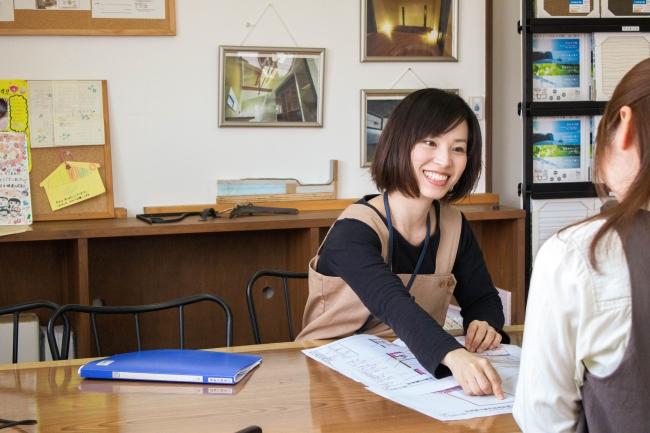 後藤恵理設計士 入社後、結婚、出産を経験し、2児のママ(5歳・3歳)