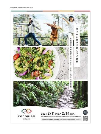 COCORISM OWASE PRポスター