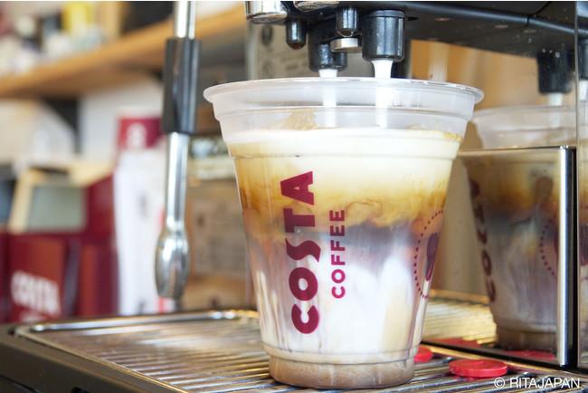 店内のコーヒーはコスタコーヒーを採用