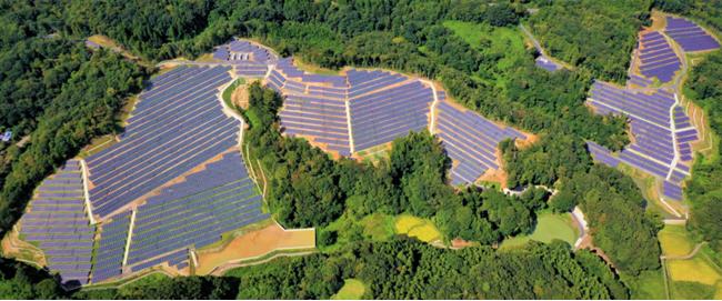 ヴィーナ・エナジー 常陸大宮2太陽光発電所(14MW)