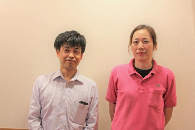 今回ご参画頂いた介護施設の石澤施設マネージャー(左)と真辺フロアーマネージャー(右)