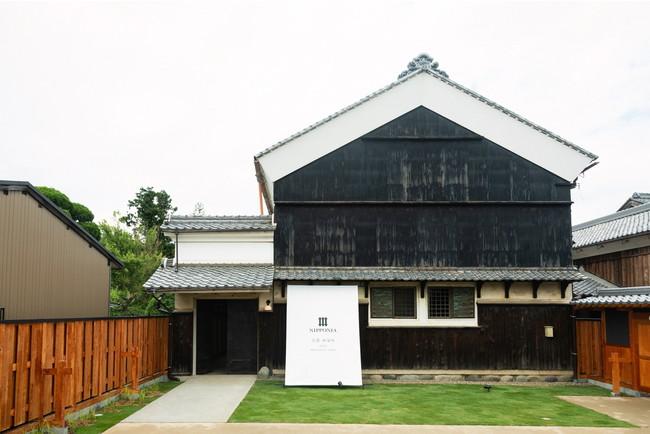 伝統的な蔵がファサードのNIPPONIA 美濃 商家町YAMAJOU棟(2019年7月OPEN)
