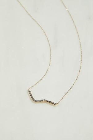 Waving Long Necklace/68,200円(税込)