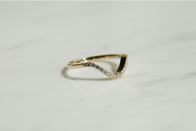 Waving Ring 42,900円(税込)